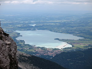 Forggensee from Kellenspitze.JPG