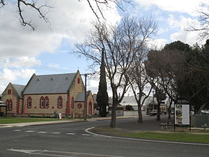 Keith, South Australia - Former church building, now the National Trust museum