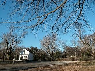 Fort Hunt Park - Entrance to the park