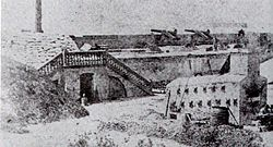 Fort Moultrie in 1861