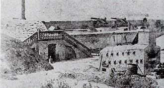 Fort Moultrie - Fort Moultrie in 1861.