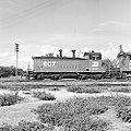 Fort Worth and Denver City, Diesel Electric Switcher Locomotive No. 607 (16062687246).jpg