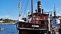 Foto, http-www.fleno.de Salondampfer Alexandra http-www.dampfer-alexandra.de im Flensburger Hafen - Flensburg - Schwimmendes Wahrzeichen der Stadt Flensburg - panoramio - www.fleno.de.jpg