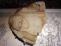 Frammento di fregio con amorini che sacrificano tori dall'esterno della cella del tempio di venere genitrice nel foro di cesare, età traianea, 113 dc ca. 04.JPG