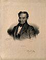 François Joseph Double. Lithograph by N. E. Maurin after him Wellcome V0001632.jpg