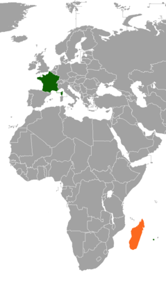 France–Madagascar relations