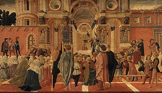 Prédication de saint Bernardin