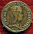Francesco francia, medaglia di giovanni II bentivoglio, 1494.JPG