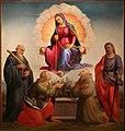 Francesco granacci, madonna della cin tola, 1515 ca. (londra, moretti fine art) 02.jpg