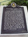 Francisco Guilledo historical marker.jpg