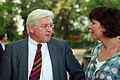 Frank Walter Steinmeier im Gespräch mit Jutta Steinruck.jpg
