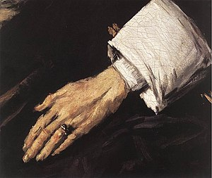 Regentesses of the Old Men's Almshouse - Image: Frans Hals Regentesses of the Old Men's Almshouse (detail) WGA11187
