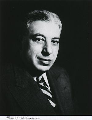 Franz Josef Kallmann - Image: Franz J. Kallmann