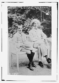 Franz Joseph, 9th Prince of Thurn and Taxis with Karl August, 10th Prince of Thurn and Taxis, ca 1910.jpg