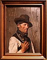 Franz seraph von lenbach, ritratto d'uomo (contadino bavarese), 1859.jpg