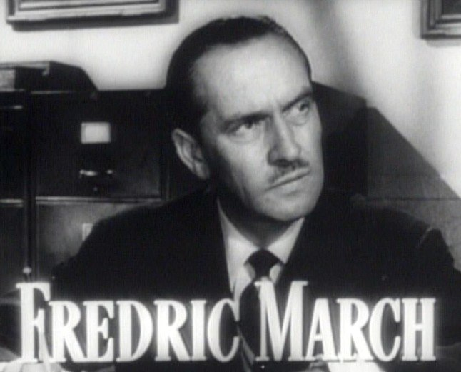 Fredric March in Best Years of Our Lives trailer