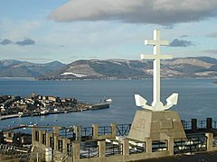 Free French Memorial, Lyle Hill - geograph.org.uk - 417332.jpg
