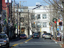 South Street in Downtown Freehold