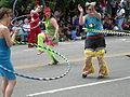 Fremont Solstice Parade 2007 - hula hoops 14-5.jpg