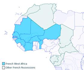 Frica ocidental francesa wikip dia a enciclop dia livre for Republica francesa wikipedia