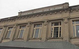 Santa Fe (Belgrano) railway station