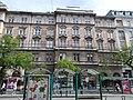 Freund-Basch house (1898). Facade. - 51-53 Erzsébet Boulevard, Budapest.JPG