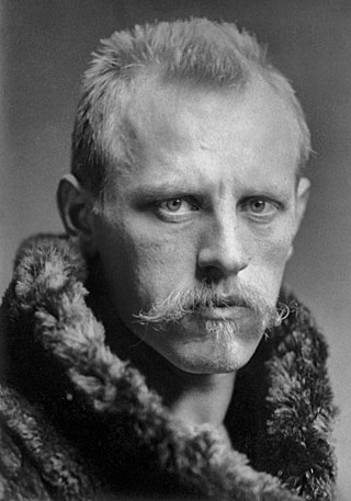 Nansen in the 1890, about 35 years old