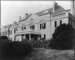 "John Roll McLean - ""Friendship,"" the estate of John R. McLean, Wisconsin Avenue at Porter House N.W., Washington, D.C., built in 1898, by Frances Benjamin Johnston"