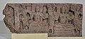 Frieze with Buddha Figures - Limestone - Circa 3rd Century AD - Amravati - Archaeological Museum - Amravati - Andhra Pradesh - Indian Buddhist Art - Exhibition - Indian Museum - Kolkata 2012-12-21 2340.JPG