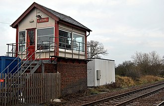 Frisby on the Wreake - Frisby railway signal box