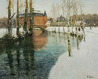 Frits Thaulow - A Château in Normandy.jpg