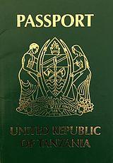 Visa requirements for Tanzanian citizens - Wikipedia