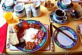 Full Irish breakfast at Gort na Mona BandB - geograph.org.uk - 1157348.jpg