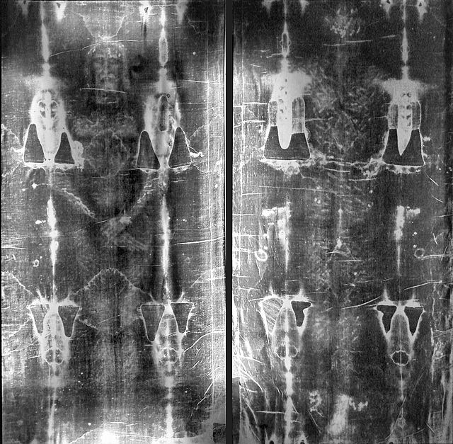 640px-Full_length_negatives_of_the_shroud_of_Turin - The Shroud of Turin (La Sindone di Torino) - Bible Study