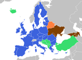 Future EU enlargement to Eastern Partnership states (as of 2009). .png