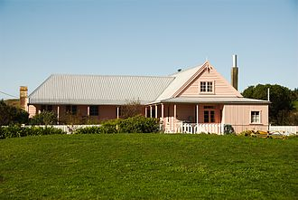 Heritage New Zealand - Image: Fyffe House, Kaikoura