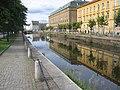 Göteborg 2008, Stampen, bild längs ån mot Nordstan - panoramio.jpg