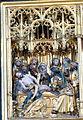 Güstrow Marienkirche - Hochaltar Passionszyklus 10 Grablegung.jpg