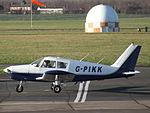 G-PIKK Piper Cherokee (23940480222).jpg