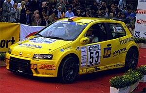 Giandomenico Basso - Basso at the 2002 Rallye Deutschland