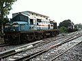 GD WDM2B 17832 Jumbo with another GD WDM3A ^16xxx shunting an empty rake behind - Flickr - Dr. Santulan Mahanta.jpg