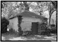 GENERAL VIEW - Mount Airy, Smokehouse, State Route 646 vicinity, Warsaw, Richmond, VA HABS VA,80-WAR.V,4D-1.tif