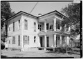 GENERAL VIEW OF SOUTH (SIDE) AND WEST REAR - William Lott House, 160 Rapier Street, Mobile, Mobile County, AL HABS ALA,49-MOBI,222-6.tif