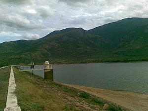 Gadananathi River - Gadana nadi or Karunai river dam