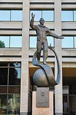 Gagarin statue london