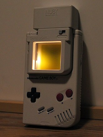 Game Boy - The original Game Boy lacked a backlight. Many third-party addons were created to improve the experience in low light conditions.