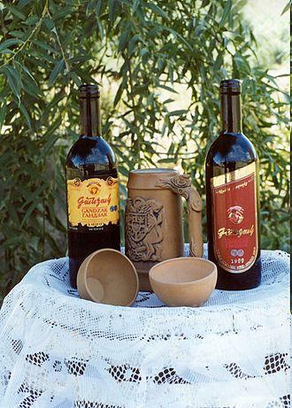 Armenian wine - Gandzak wine
