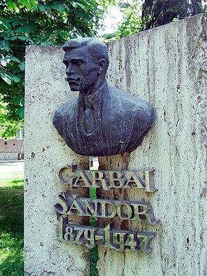 Sándor Garbai - Bust of Garbai