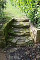Garden steps in Nuthurst, West Sussex, England 01.jpg