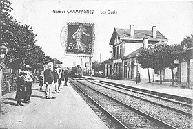 Image illustrative de l'article Gare de Champagney